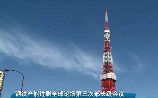 钢铁产能过剩全球论坛第三次部长级会议在日本东京召开