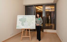 路劲地产香港「山水盈」项目首度开放示范单位