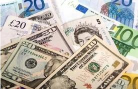 欧元兑美元11月8日触及三周最低