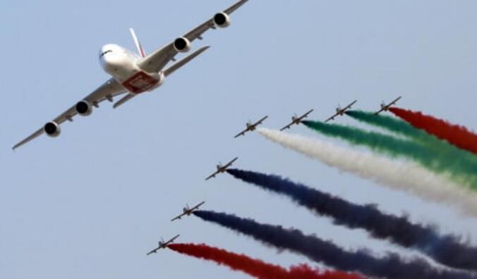 阿联酋航空订购价值50亿美元的50架空中客车A350飞机