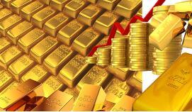 黄金12月2日持稳 钯金突破每盎司1,860美元