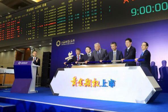 我国首个黄金期权产品在上海上市交易
