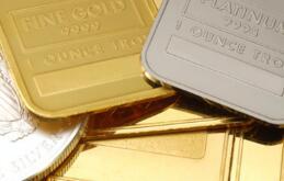 国际黄金价格1月10日上涨0.34% 铂金上涨1.1%