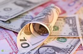 1月13日,人民币中间价报6.9263,上调88点