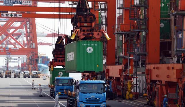 日本出口连续第13个月萎缩,进一步打击了经济