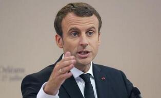 法国总统马克龙呼吁欧洲保持团结着眼投资未来
