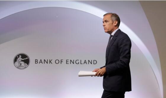 英格兰银行卡尼说,疫情已经在影响英国经济