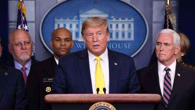 白宫官员说,特朗普将雇主和雇员的薪金税率定为0%  将持续到年底