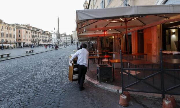 意大利将关闭范围扩大到几乎所有商店