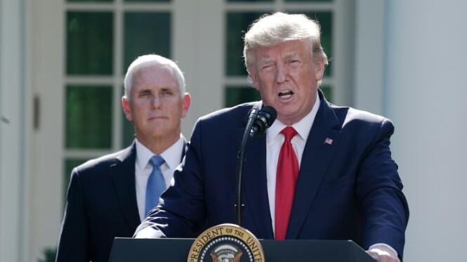 特朗普因新冠病毒宣布美国进入国家紧急状态