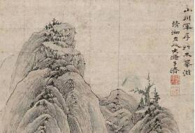 石涛五十幅传世意象国画作品