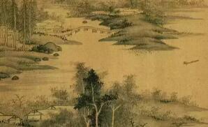 董其昌、石涛教你中国画云水瀑布的画法