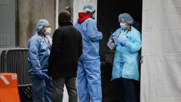 """纽约已成为美国新冠肺炎疫情""""震中""""  占美国所有病例的三分之一"""