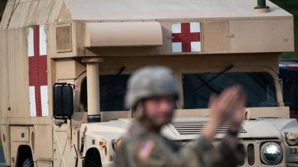 特朗普总统启动加州、纽约州和华盛顿州国民警卫队抗击疫情