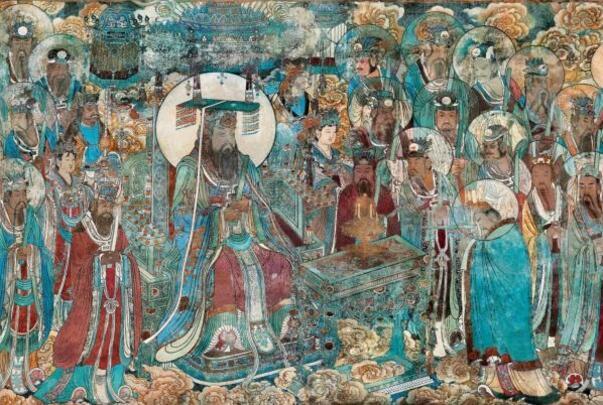 永乐宫壁画历经七百多年,色彩依然鲜艳夺目