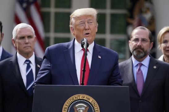 特朗普宣布美国暂停移民60天