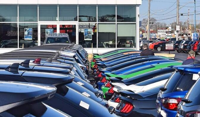 美国四月份汽车销量大幅下滑