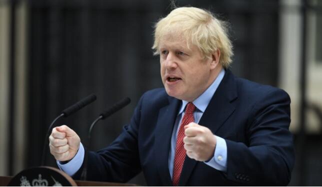 """英国首相鲍里斯·约翰逊提出了""""有条件的""""重新开放"""