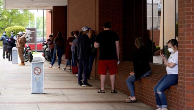 美国上周申请失业救济人数为243.8万 连续第7周下降