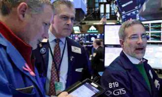 美股5月28日收盘走低,道琼斯指数下跌147点,银行股普跌