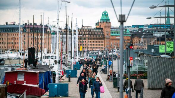 瑞典今年前三个月经济增长0.4%