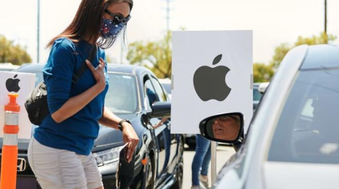 苹果将关闭德克萨斯州休斯顿的七家商店