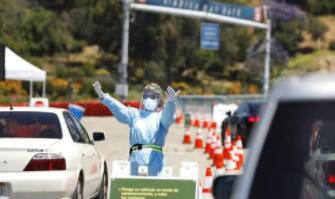加州报告有7000多起病例,是目前为止最大的单日上升