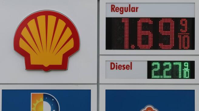 石油巨头壳牌公司第二季度减记多达220亿美元资产