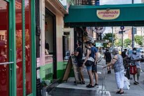 纽约市6日起进入第三阶段重启 仍禁止室内就餐