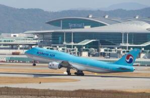 韩国航空公司国际线旅客第二季同比锐减97.8%