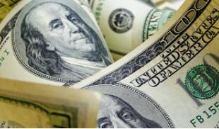 离岸人民币(CNH)兑美元北京时间04:59上涨10点