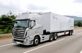 韩国现代汽车氢燃料电池重型卡车首次出口瑞士