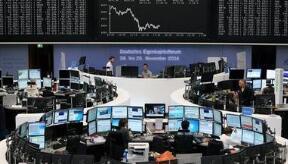 欧洲股市周三收低0.9%,石油和天然气类股跌幅超过2%
