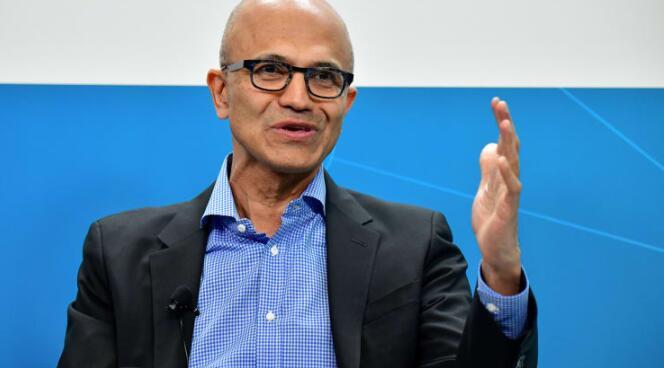 微软第四季度收入增长13%  云业务超过500亿美元
