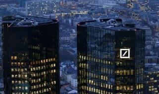 德意志银行第二季度净营收62.9亿欧元 超出预期