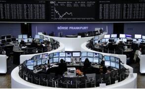 欧洲股市周三涨跌不一,德意志银行股票下跌2.5%