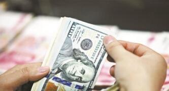 离岸人民币(CNH)兑美元周五纽约尾盘跌257点