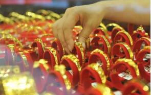 上海黄金交易所黄金T+D 晚盘收盘上涨1.65%