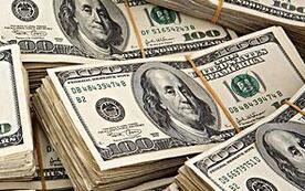 8月20日,人民币中间价报6.9274,下调106点