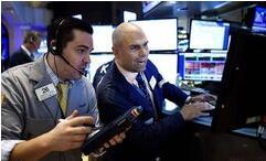 美股9月28日收涨,道琼斯指数上涨400点,银行科技股领涨