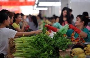 """11月11日:""""农产品批发价格200指数""""比昨天下降0.35个点"""