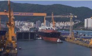 三星重工业获得欧洲25亿美元的船舶砌块和器材供应合同