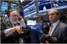 美股12月14日收盘涨跌不一,道琼斯指数失守30000点