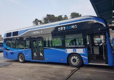 首尔首批氢能公交15日起上路五年内增至千辆