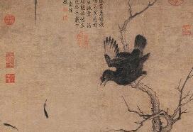 宋徽宗赵佶鸲鹆图领衔 南博呈现大型花鸟画展