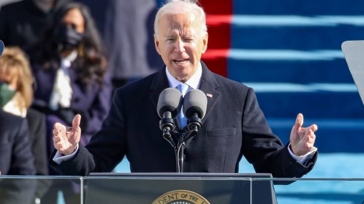 美国在周三见证了前共和党总统唐纳德·特朗普向民主党总统乔·拜登的权力移交