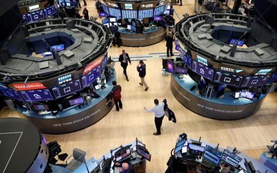 美股1月22日涨跌不一,纳指再创新高,道指和标普500指数下跌