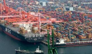 韩国出口量连续四个月增长
