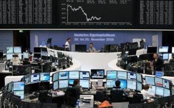 欧洲股市周三全线下挫,德国下调经济增速预期