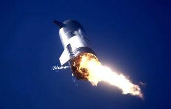 """美太空探索技术公司""""星舟""""火箭试飞时爆炸"""